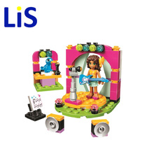 Lis 2017 new 10605 Andrea's Musical Duet Model Building Blocks set 87pcs Girls Bricks toys Gift Compatible 41309 lepin