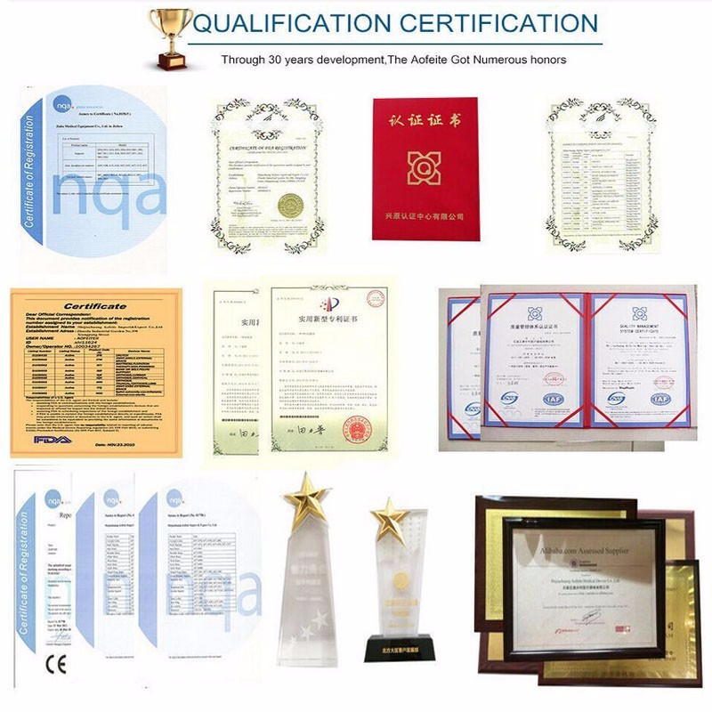 back support belt certificates