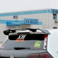 Гольф 7 MK7 Revozport Стиль углеродного волокна авто спойлер крыло для Volkswagen VW Golf VII Golf7 GTI с R только