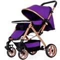 The whole landscape Peng baby stroller landscape high shock proof foldable stroller can sit and lie baby stroller Baby stroller