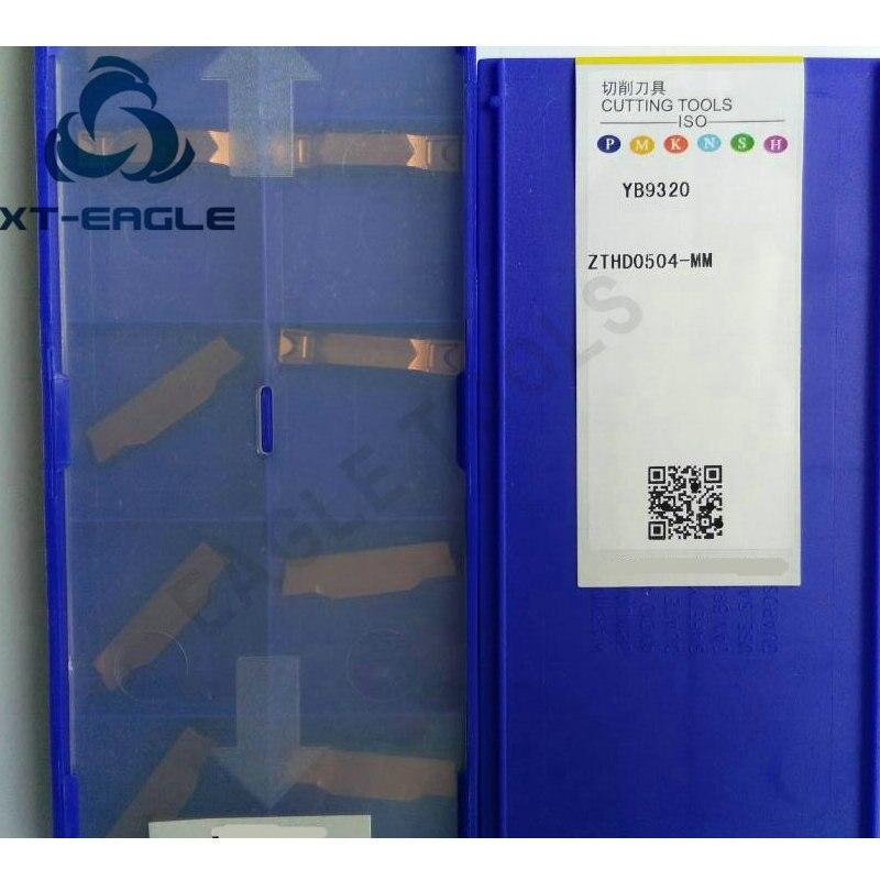 20PCS ZTHD0504 MM YB9320 Free shipping 100 Original brand CNC blade