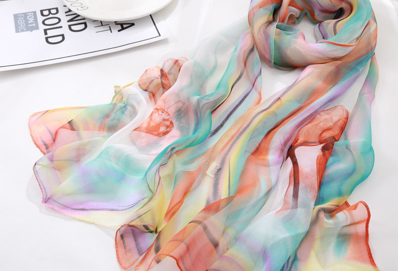 Winter Scarf Time limited Adult Rayon Women Print Hijab 2019 New Ladies Air Conditioning Silk Scarves Wild Sunscreen Colorful in Women 39 s Scarves from Apparel Accessories