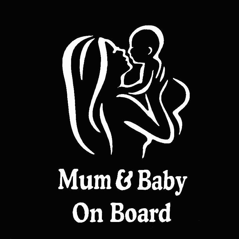 Detail Feedback Questions About 1pc Mum And Baby On Board Car Safety