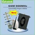 2017 Novo produto Repetidor 2G GSM 900 MHz Sinal Móvel Impulsionador conjunto completo com exterior yagi antenna + indoor chicote antena + 10 m cabo