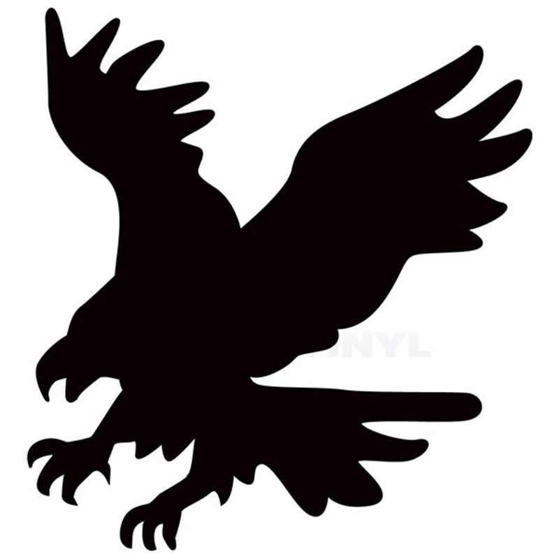 13 см х 13 см Американский Летящий Орел автомобиля Стикеры для окна грузовика, Бампера Авто Виниловая наклейка на дверь 13 Цветов