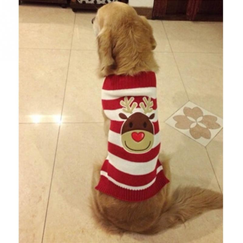 Kersttrui Mopshond.Us 6 62 26 Off Honden Katten Kerst Trui Gestreepte Hond Kleding Puppy Trui Kleding In Honden Katten Kerst Trui Gestreepte Hond Kleding Puppy