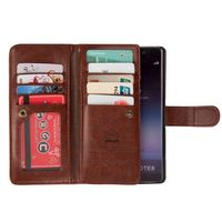 Multifunctional Wallet Case For Samsung Galaxy Note 8 Flip Cover PU Leather Hadbag Phone Bag Case