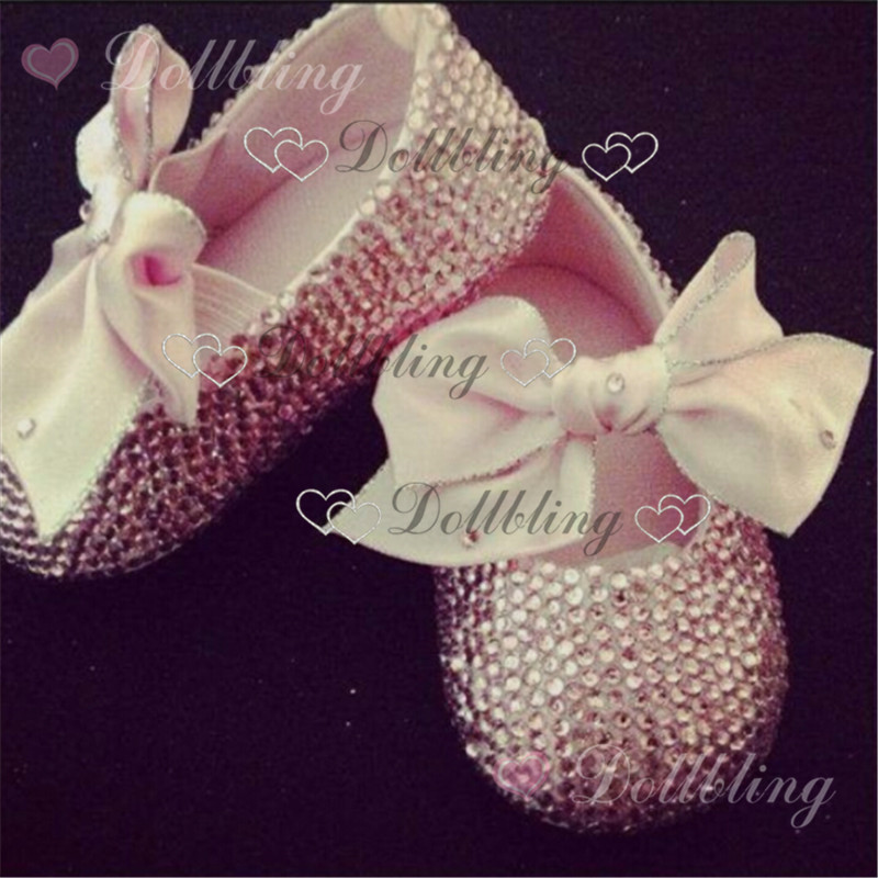 Blush Pink Rhinestons all over stunning strass wedding occasion baby shoes ballerina gift for 0-12M newborn princess михалис stunning days at pink palace agios gordios corfu island