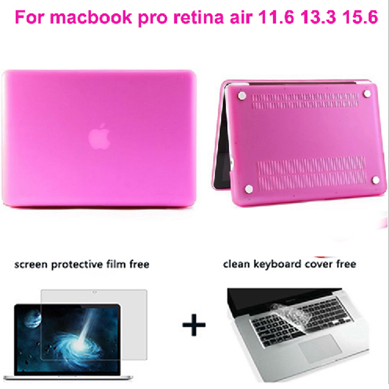 laptop case new matte rose red for Macbook Pro 13/ retiana