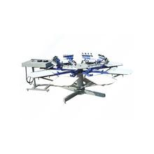 1Set 8 color 8 station T-shirt screen printing machine comeswith base good quality