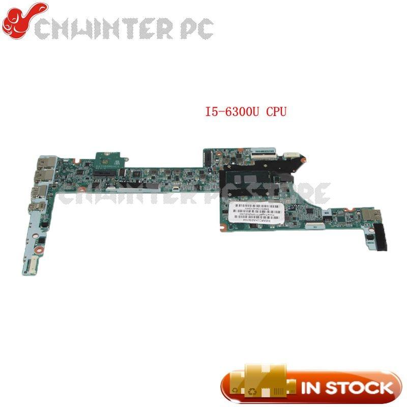 NOKOTION Notebook PC Motherboard For HP Spectre X360 13-4102TU MAIN BOARD DAY0DDMBAE0 SR2F0 I5-6300U CPU
