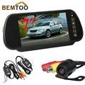 "BEMTOO Car Rear View Camera 170 degree Night Vision Camera+7"" TFT LCD Monitor + wireless adapter a trigger line"