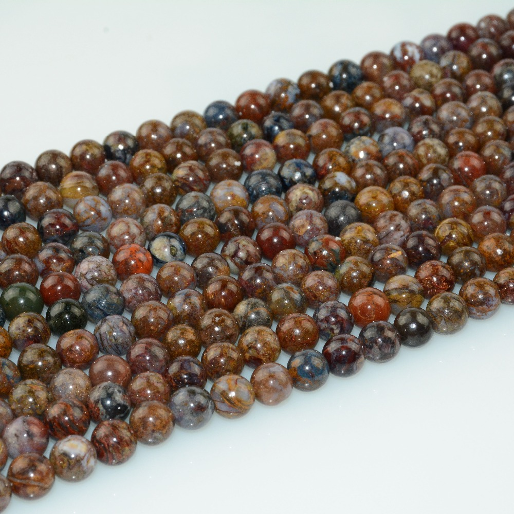 HTB17gzALjDpK1RjSZFrq6y78VXak Natural Pietersite Stone Loose Round Beads 8mm / 10mm