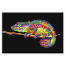 Fashion Framed Wall Art Picture Gift Home Decoration Canvas Print painting Colorful animal series wholesale
