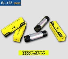 Original skilhunt BL-122 2200 mAh Portable Lighting Accessory Li-ion 18650 Rechargeable Battery