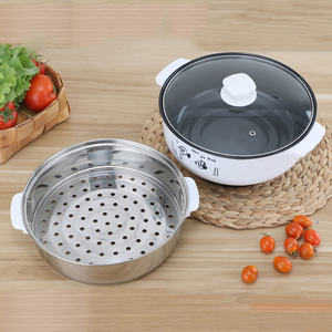 Image 4 - 220V Multifunctional Electric Cooker Heating Pan Electric Cooking Pot Machine Hotpot Noodles Rice Eggs Soup Steamer Cooking Pot