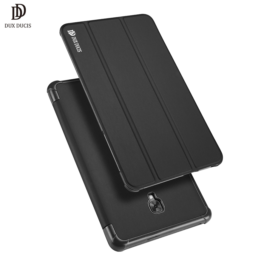 DUX DUCIS Flip Case For Samsung Galaxy TAB A (2017) 8.0 T380 T385 Stand Smart Anti-knock Cover Luxury PU Leather & PC Bag