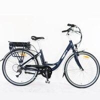 Şehir Elektrikli Yol Bisikleti, E Bisiklet için Bayanlar, büyük Kalite, 7 Hızları, 700C * 40C, Bafang motor ebike Alüminyum Alaşım Çerçeve