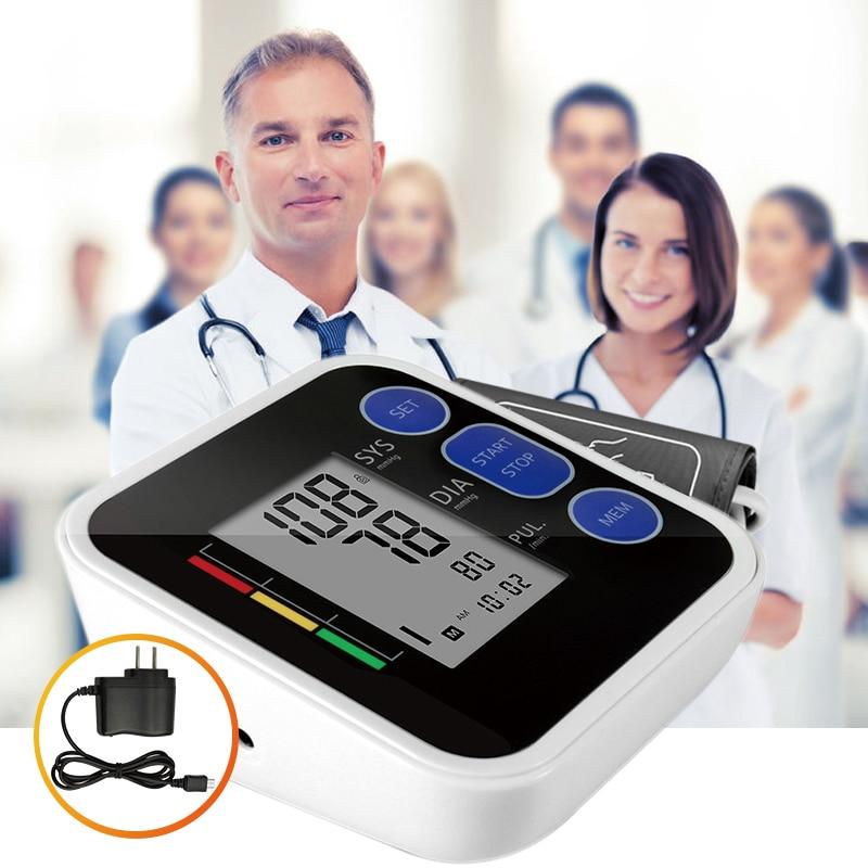 Cigii oberarm-blutdruckmessgerät pulsmesser LCD Tragbare Hauspflege 1 stücke Digitale Tonometer Meter pulsoximeter