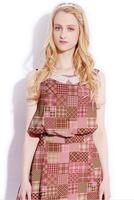 Wholesale Pink Plaid College Silk Fabric Dresses Print Satin Floral Process Tweed Cheap Fabrics Tecido Stripe
