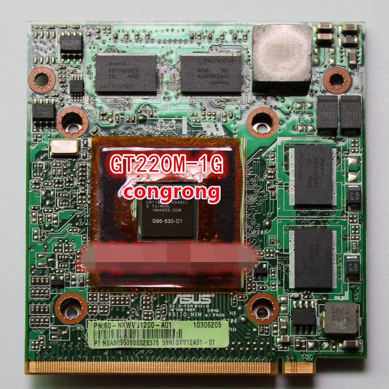 GT220M GT 220M 1GB VGA Video Card For ASUS X66IC K61IC K50IO K70IC X70IC K51IO