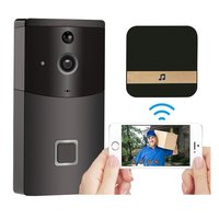 2.4GHz WiFi Video Doorbell HD 720P Camera Smart Speaker Night Vison Motion Detetion Wake up For IOS/Android Viewing