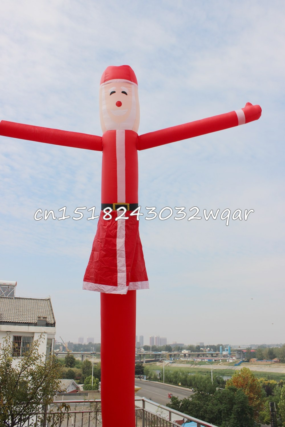 Sky Dancer Air Dancer Inflatable Toys 6M 20FT Inflatable Tube NO Blowers Inflatable Toys Shop ads sign SD-01 цена и фото