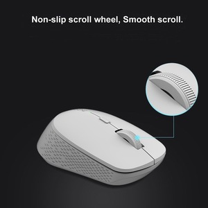 Image 4 - New Rapoo Multi mode Silent Wireless Mouse with 1600DPI Bluetooth 3.0/4.0 RF 2.4GHz for Three Devices Connection