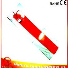 Силиконовый подогреватель барабанчика 110 в 2000 Вт 250*1740*1,5 мм с ED330L цифровой термостат на проводе XD-H-D-1239