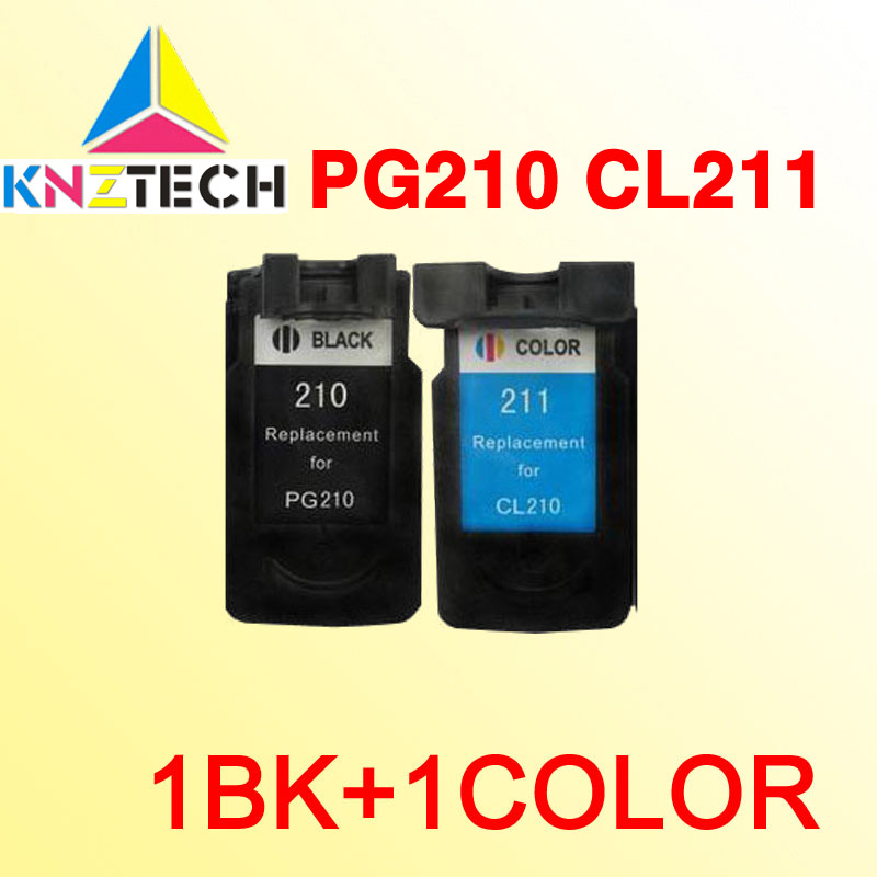 PG210 CL211 Ink Cartridge Compatible For CANON PG-210 CL-211 PG210XL CL211XL MP240 MP270 MP480 MP490