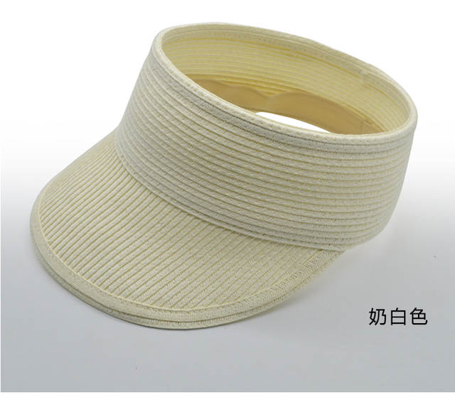 0875d207064 placeholder Fashion Women Lady Foldable Roll Up Sun Beach Wide Brim Straw  Visor Hat Cap Leisure hat