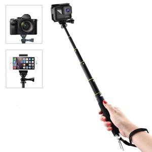Image 5 - LBKAFA 7.1 כדי 31.5 אינץ Selfie מקל עמיד למים חדרגל חצובה כף יד Stand עבור Gopro גיבור 8 7 6 5 SJCAM SJ4000 SJ5000 SJ6 DJI