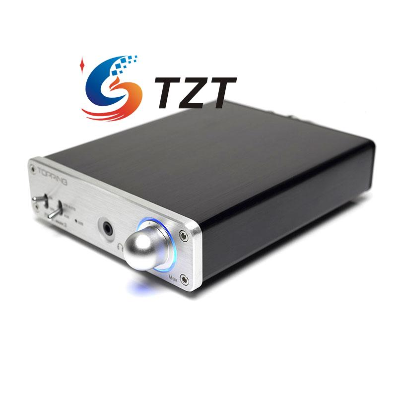 Class T Digital Amplifier TP30-MARK2 Headphone AMP with Built-in USB DAC TOPPING new topping tp60 tp 60 ta2022 80w x 2 class t amp tripath mini hifi digital stereo power amplifier 2 analog rca inputs 220v 110v