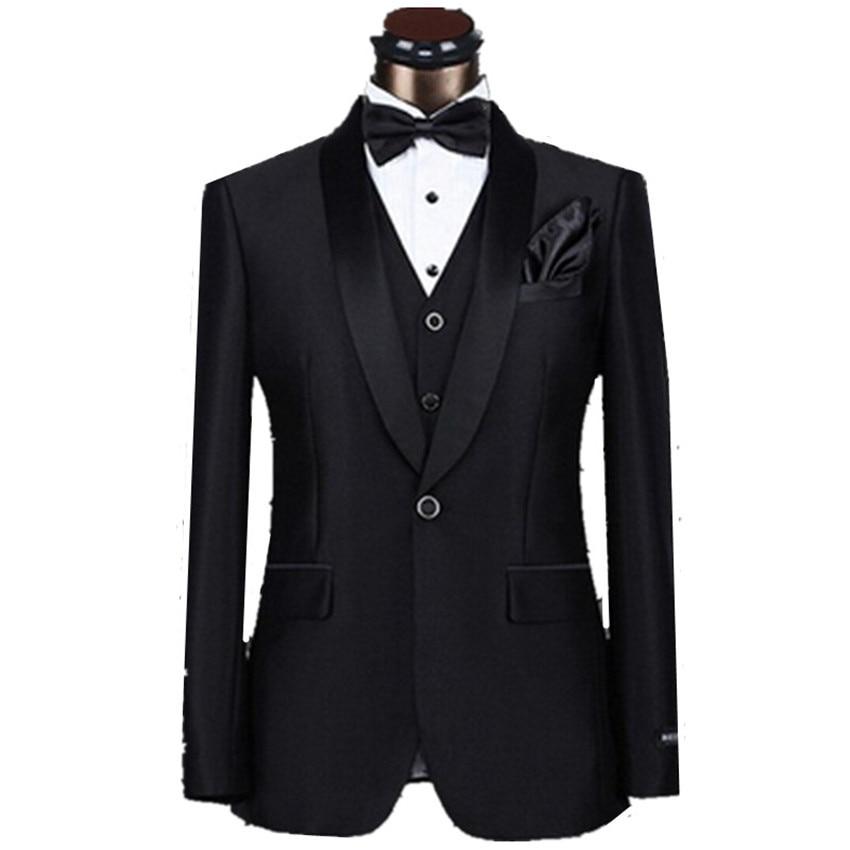 Noir 1 Gilet Smoking Pantalon Costume Nouveau Tie 2017 Beige De Mariage Bow Mince Hommes veste Pourpre Marque multi Bouton Costumes Marié Mode YAwUqxvq