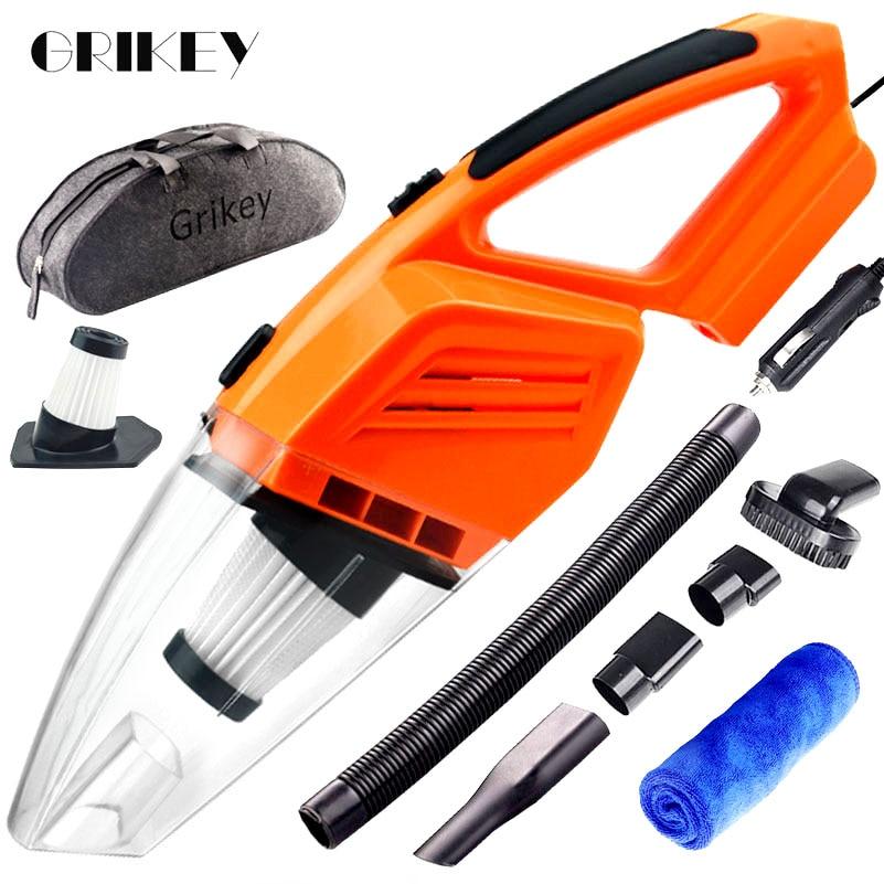 GRIKEY Car Vacuum Cleaner Car Handheld Vacuum Cleaner Mini Vacuum Cleaner For Car Aspirateur 5Kpa Powerful Vaccum Cleaners Auto