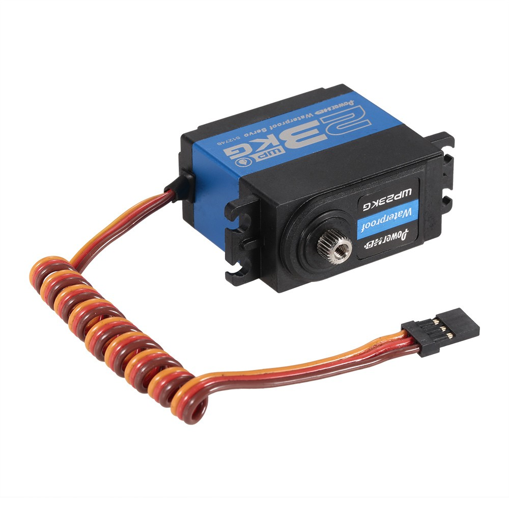 High quality Power HD WP-23KG servo to meet the needs of many radio control models or other special projects. Smooth operation
