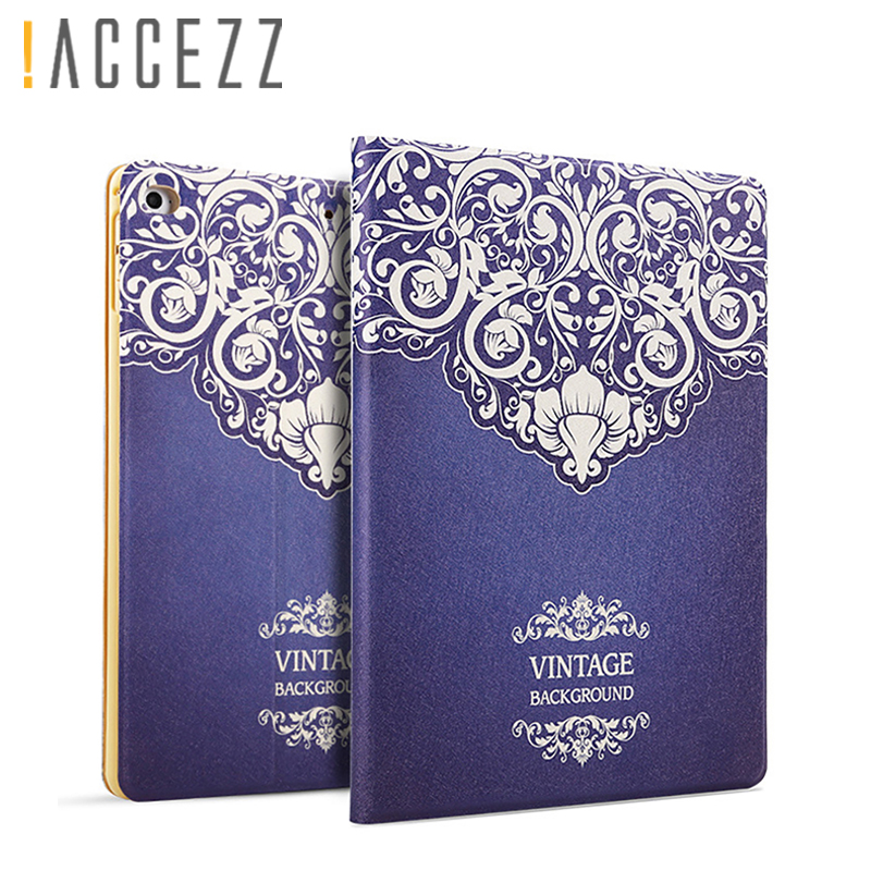 """!accezz 9.7"""" Inch Tablet Sleeve Cover Shell For Ipad 2 3 4 Full Protection Case For Ipad Air 1/2 Smart Sleep Wake Up Flip Case"""