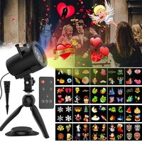 Motion Lamp Projector magic ball disco DJ remote control stage effect Christmas project laser party lights Waterproof IP65