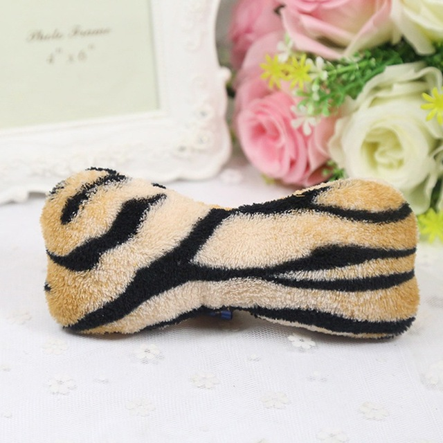 Lovely  Dog Toys Pet Puppy Chew Plush Cartoon Animals Squirrel Cotton Rope OX Shape Bite Toy Duck Shaped Squeak Toys 5