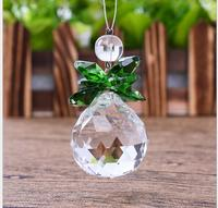 Free Shipping K9 Crystal 30mm Clear Crystal Ball+Color CRYSTAL Bead 10pieces/Lot for Chandelier Parts,Lighting Accessories Parts