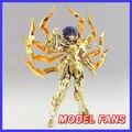 FÃS MODELO IN-STOCK sog GreatToys Grandes brinquedos EX alma de Ouro Máscara de Morte Por câncer de armadura de metal Pano Mito Saint Seiya Figura de Ação