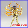 MODEL FANS IN-STOCK GreatToys Great toys EX soul of Gold sog cancer Death Mask Saint Seiya metal armor Myth Cloth  Action Figure