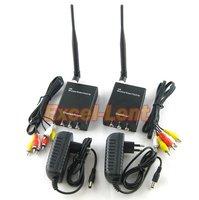 Date! 2000 M 2 W 2.4G Sans Fil AV Vidéo Sans Fil Émetteur-Récepteur pour CCTV, L'expéditeur et le Récepteur (émetteur et Récepteur)
