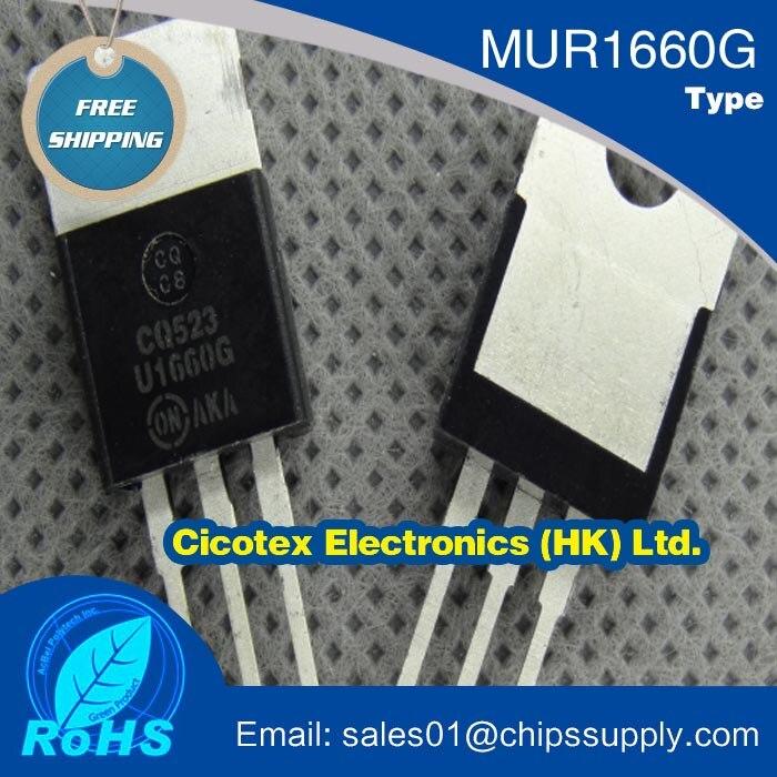 MUR1660G U1660G tubo 16A600V TO220-3