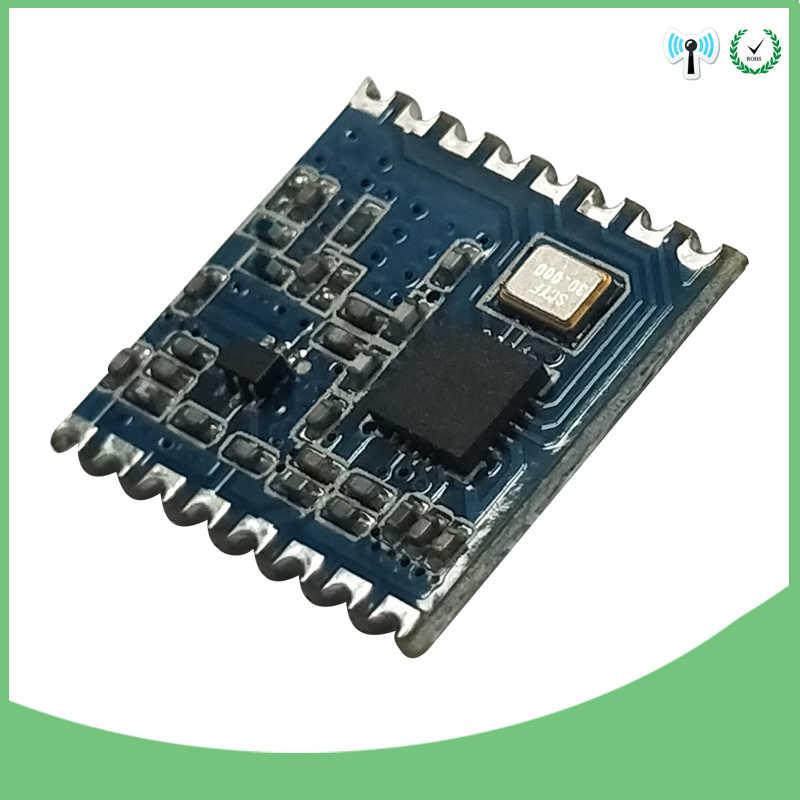 2 sztuk 433 MHz moduł bezprzewodowy FSK rozpowszechnianie bezprzewodowe spektrum odbiornik nadawczo-odbiorczy IOT rf tarcza i 2 sztuk 433 MHz antena