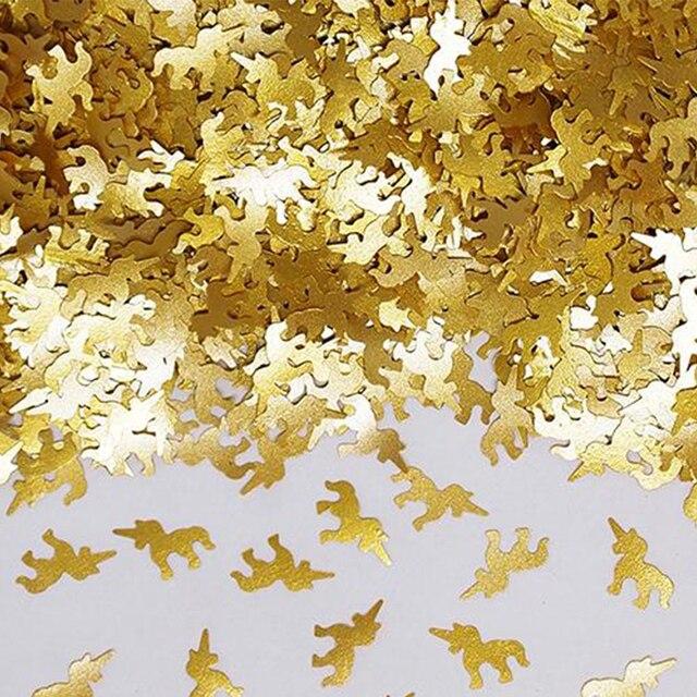 US $6 79 15% OFF|Aliexpress com : Buy Edible Unicorn Desktop Confetti  Sprinkles Birthday Wedding Decorations Glitter Gold Colors,Kitchen Baking  Tools