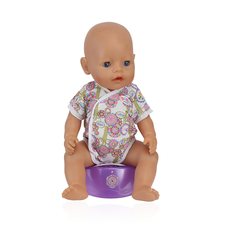 Flower Jumpsuit Wear Fit 43cm Baby Born Zapf Children Best Birthday