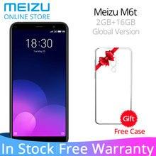 Resmi Küresel Sürüm Meizu M6T 6 T 2 GB 16 GB M811H Cep Telefonu MTK6750 Octa Çekirdek 5.7