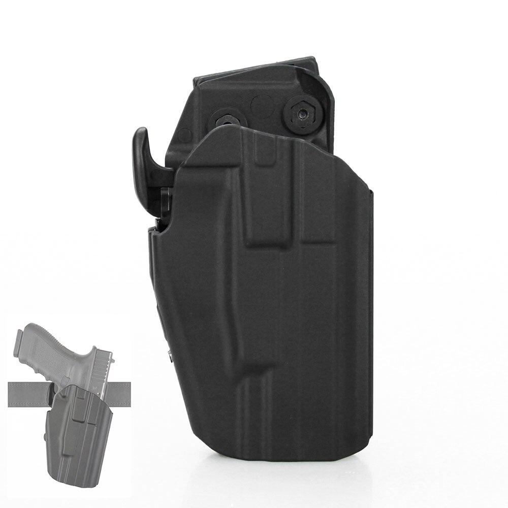 Ppt tático unviersal comprimento 16 cm largura da correia 4 a 6 cm arma coldre apto para g17 g22 g20 g21 g37 g grave HS7-0069