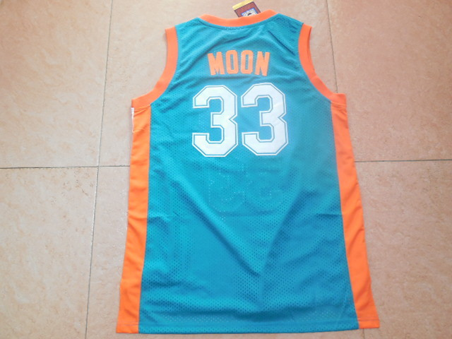 Green Jackie Moon  33 Flint Tropics Semi Pro Movie Stitched Basketball  Jersey ba9a3a220